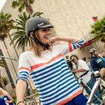 Stana Katic apoya la iniciativa de CicLAvia acudiendo al evento