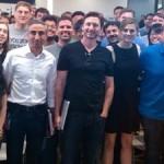 Stana Katic charla sobre ATP con Google en Silicon Valley