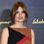 Stana Katic asiste a la Fashion Week de Milán