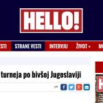 Stana Katic: De vacaciones por la antigua Yugoslavia