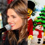 Stana Katic dará inicio a la Navidad del parque temático Legoland en California