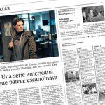Absentia y Stana Katic en el periódico El País [25/09/2017]