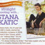Stana Katic en la revista Shape 2010