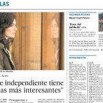 Stana Katic sobre Absentia para el periódico El País [13/11/2017]